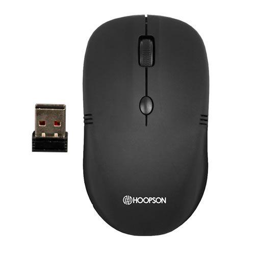 Mouse sem fio com receptor Usb dpi 800 - 1200 - 1600 Hoopson ms-037w