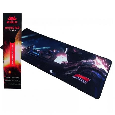 Mousepad Gamer 80x30 Emborrachado - Temas Games