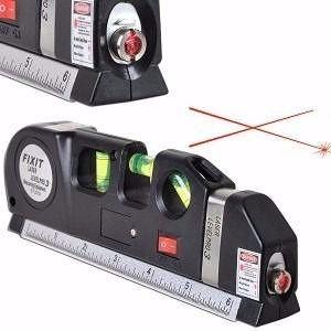 Nível Laser 3 Estágios Nivelador Trena Level LV03