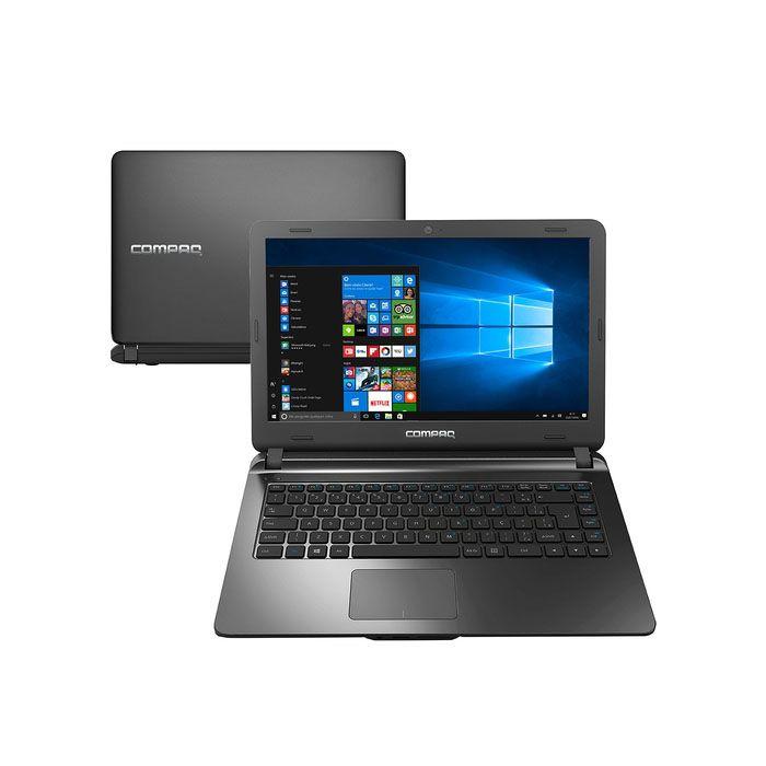 Notebook Intel Core i3 4GB 120GB SSD W10 14'' Preto - Presario CQ21N Compaq