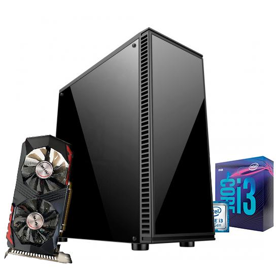 PC Gamer 9ª Geração - i3 9100F - GTX 750TI - 8GB DDR4 - HD 1TB