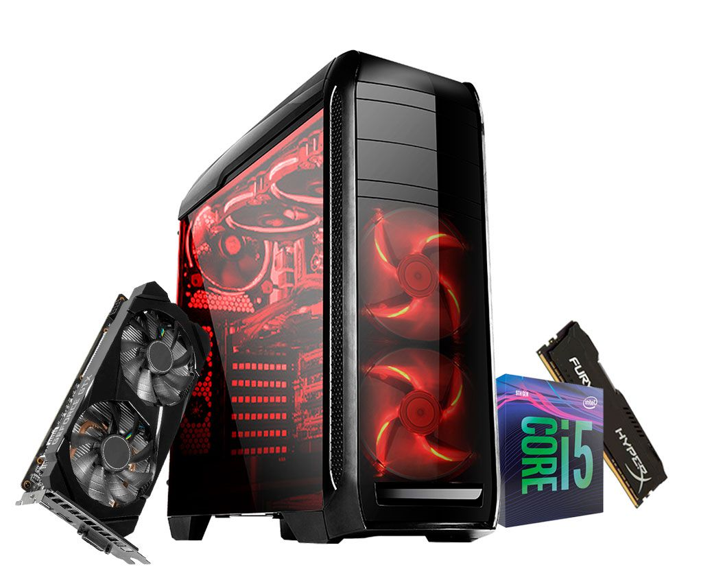 Pc Gamer Intel Core i5 9400F - Gtx 1660 6gb - 8gb Ram - HD 1Tb