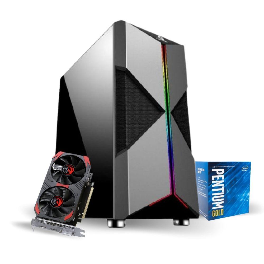 PC Gamer Intel G5420 - RX 560 4GB - 8GB DDR4 - SSD 480GB