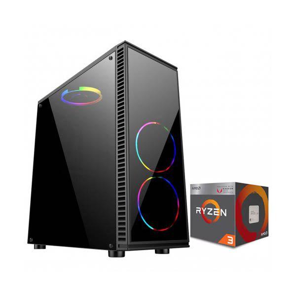 Pc Gamer Ryzen 3 2200g - 8GB RAM - SSD 120GB - Radeon Vega 8