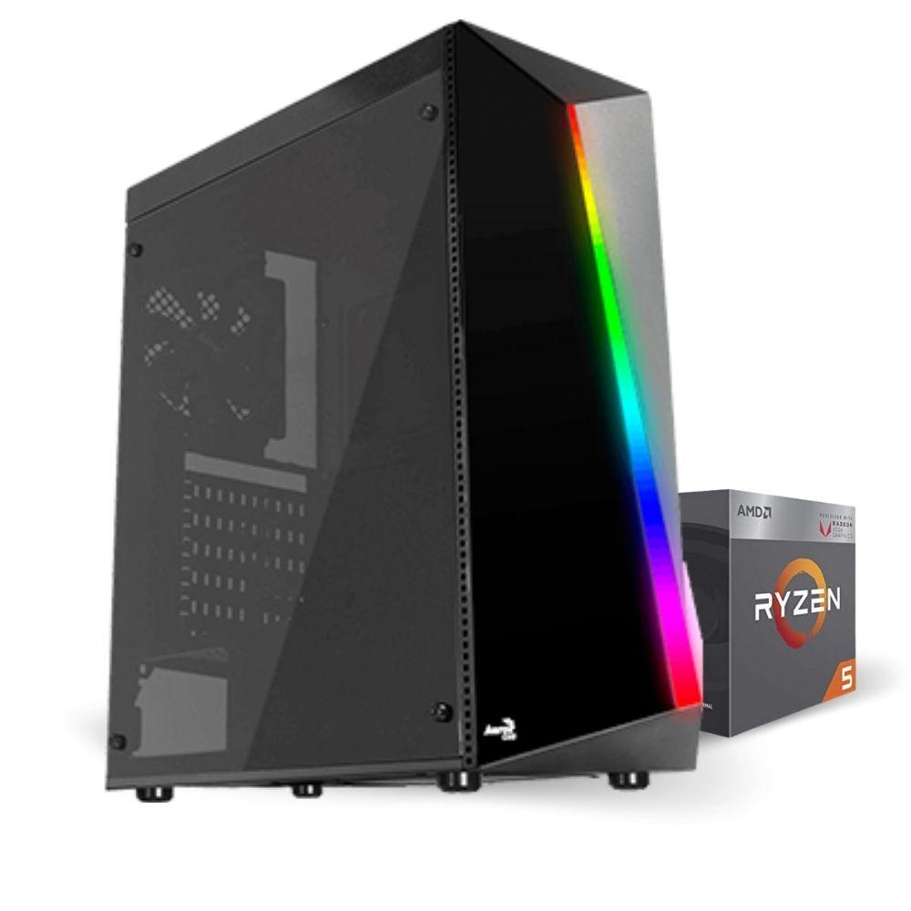 Pc Gamer Ryzen 5 2400g - 16GB RAM - SSD 480GB - Radeon Vega 11