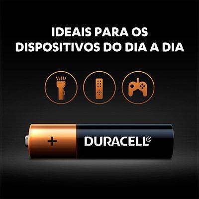 Pilha Alcalina Duracell - AA - Pack com 2 Unidades - Par