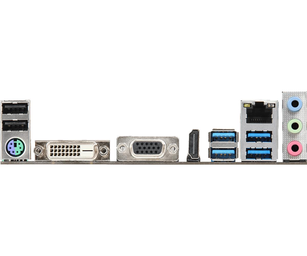 Placa Mãe A320M-HDV R4.0 AMD Ryzen 3000 Desktop - ASRock