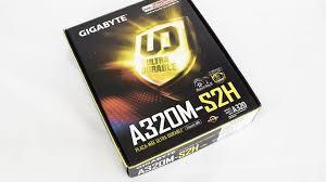 Placa Mãe A320M-S2H DDR4 - Gigabyte