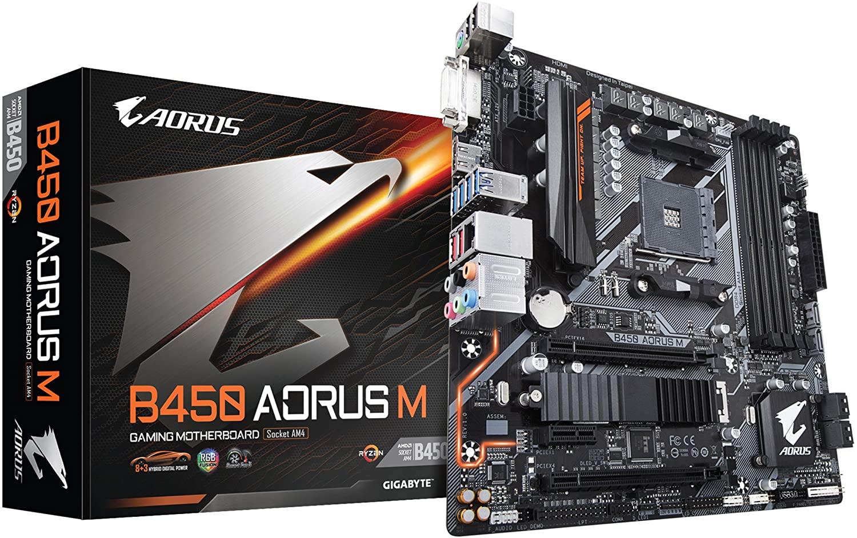 Placa Mãe Gamer B450 DDR4 - Aorus