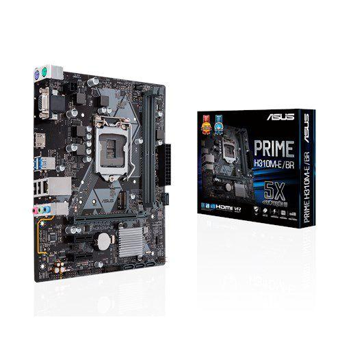 Placa-Mãe H310M-E/BR Asus Prime - Intel LGA 1151 DDR4