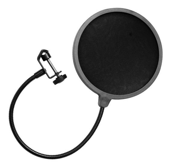 Pop Shield Protetor Anti Ruido p/ Microfone M-061