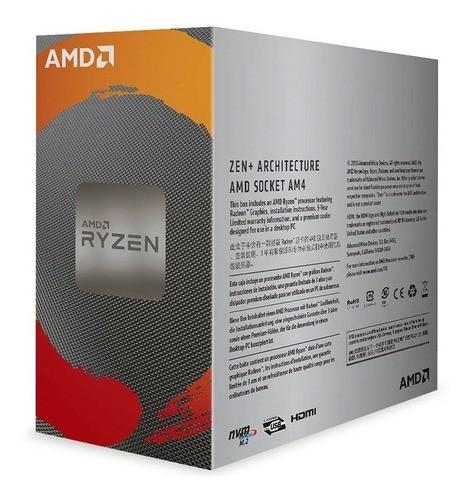 Processador Quad Core 2ª Geração com Radeon 3200G - AMD Ryzen