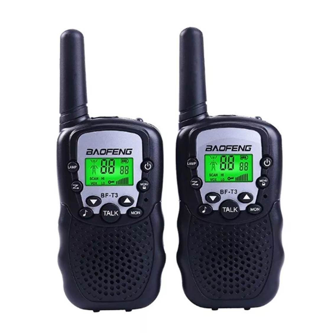 Rádio Comunicador Mini Walkie Talkie Baofeng Bf-t3