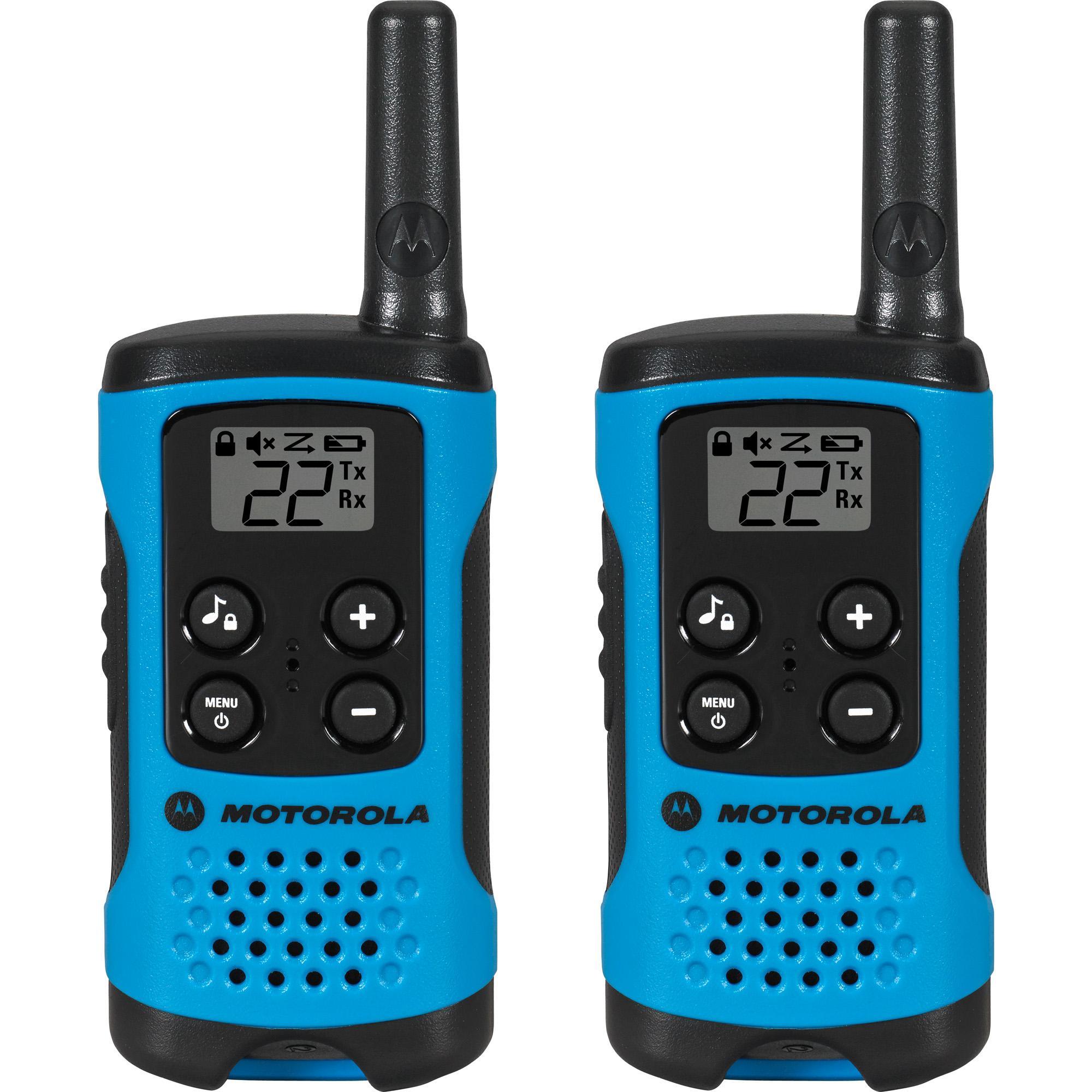 rádio comunicador talkabout 25 km 26 Canais 20 Tons de Chamada t100br Motorola