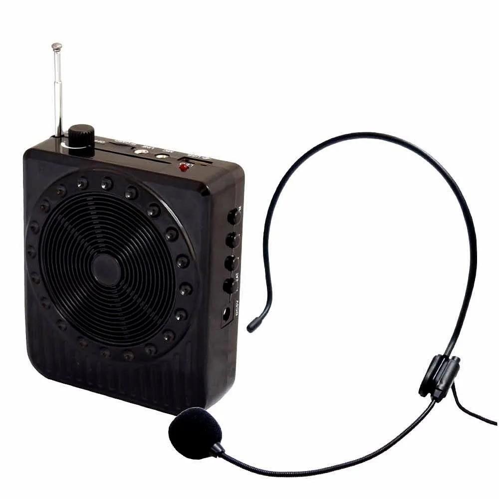 Rádio Megaphone Speaker Multifunções  Com Rádio Fm Usb amplificador de voz Hmaston k8