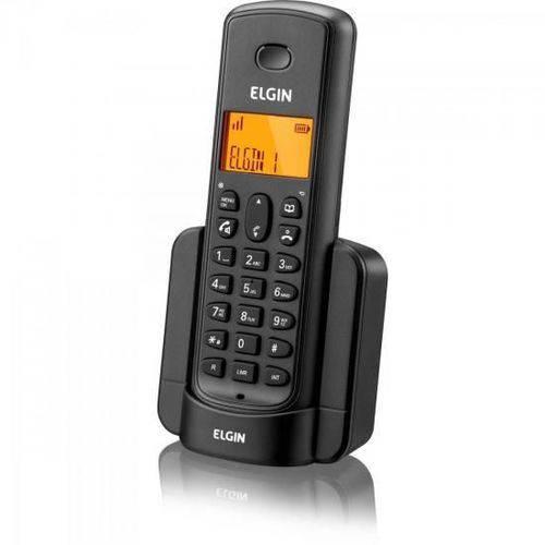 Ramal Para Telefone sem Fio com ID TSF-8000R Preto ELGIN