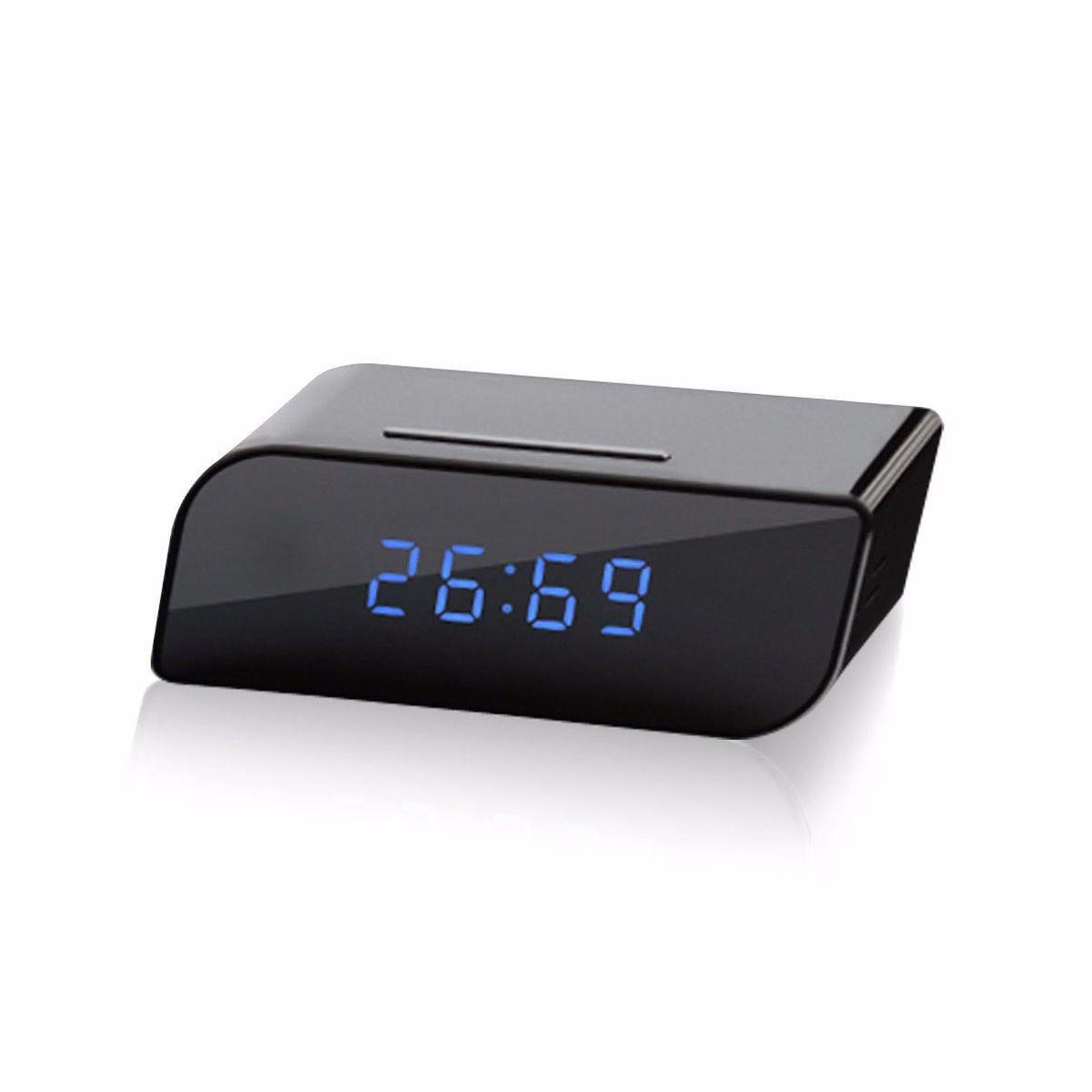 Relógio Mesa Espião Câmera HD - Wi-fi - Acesso Remoto