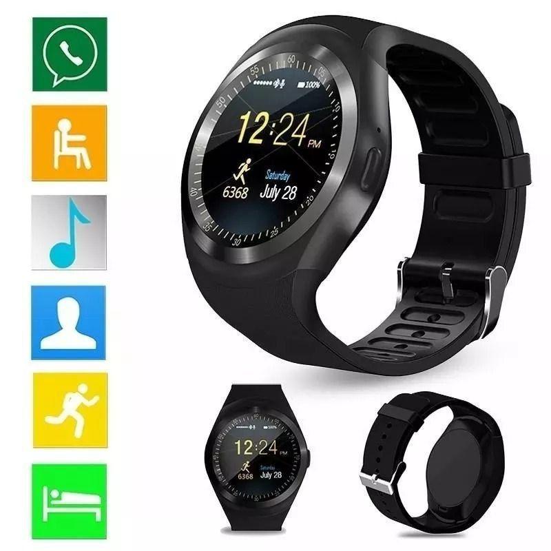 Relógio Smart de Pulso - Notificações Bluetooth - Tomate TR-02