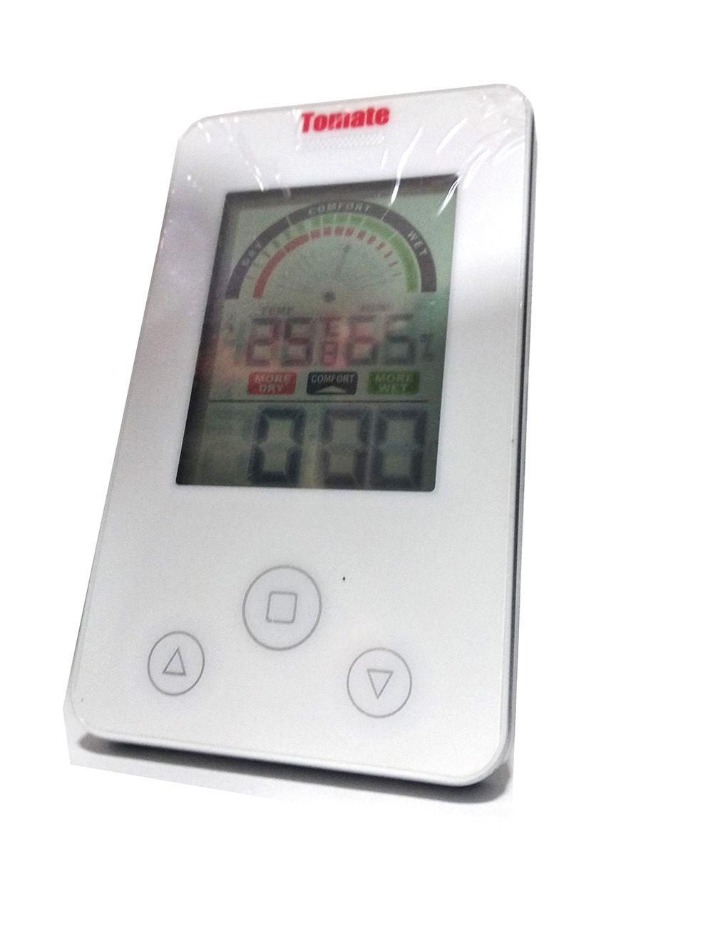 Relógio Termo Higrômetro Temperatura e Umidade PD-005 Tomate
