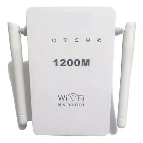 Repetidor Extensor Wi-fi  Wireless 2 antenas 1200 mbps  Rápido