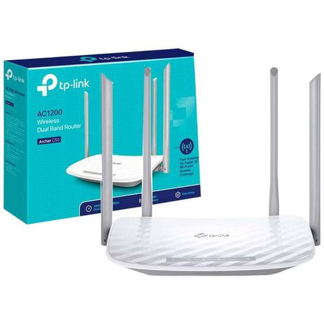 Roteador Wireless AC1200 Dual Band Archer C50 - TP-Link