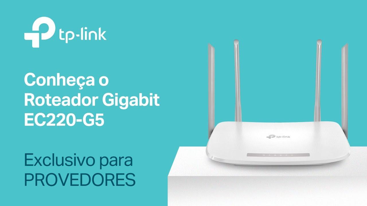 Roteador Wireless AC1200 Gigabit Dual Band EC220-G5 - TP-Link