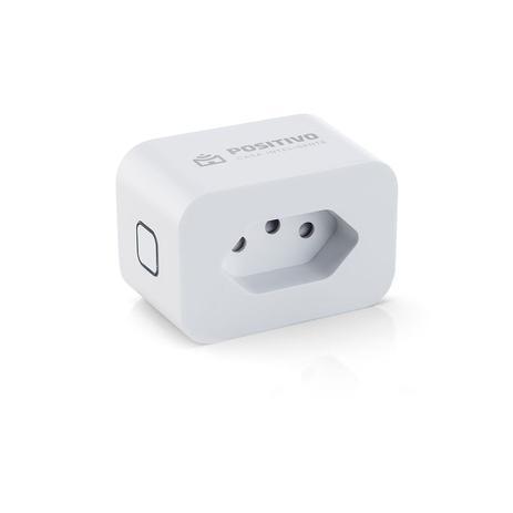 Smart Plug Wi-fi Tomada Positivo Casa Inteligente 10a Branco