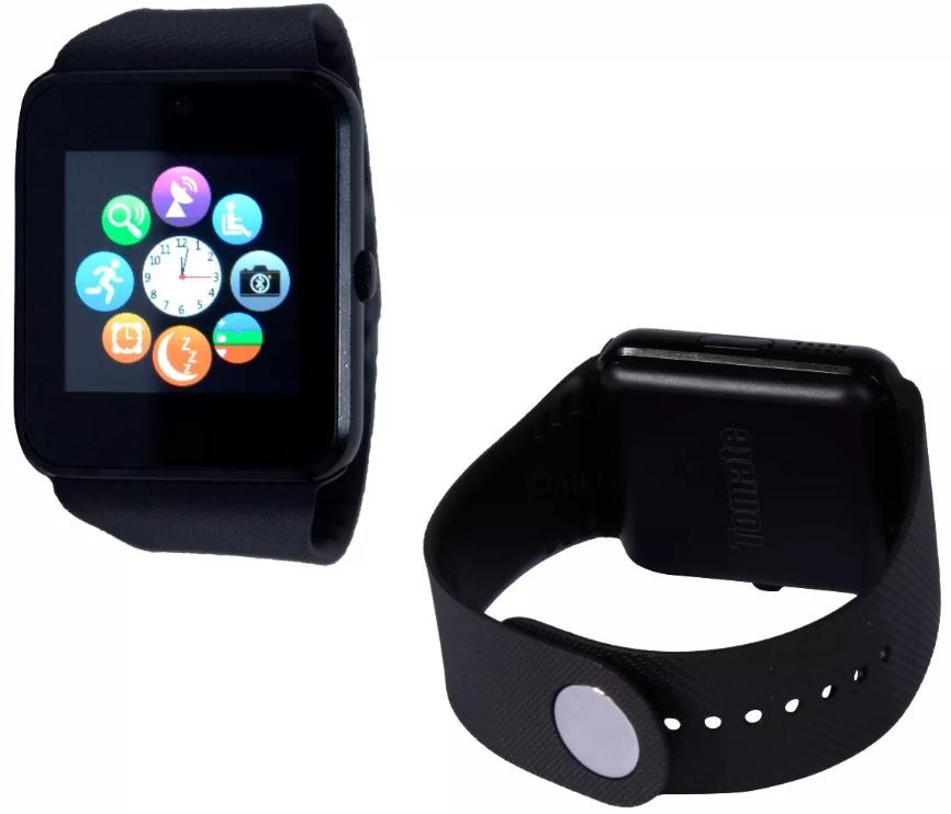Smart Watch Relógio Celular Inteligente Bluetooth Camera