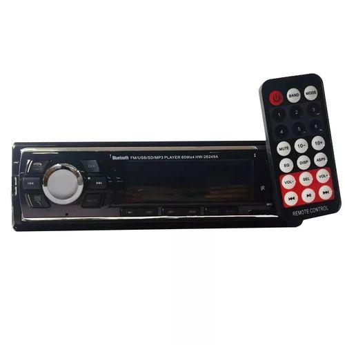 Som Automotivo Mp3 Com Usb Radio Sd Carro Visor Lcd Hw-26249