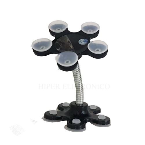 Suporte para celular com ventosas 360 Graus Silicone Sucker