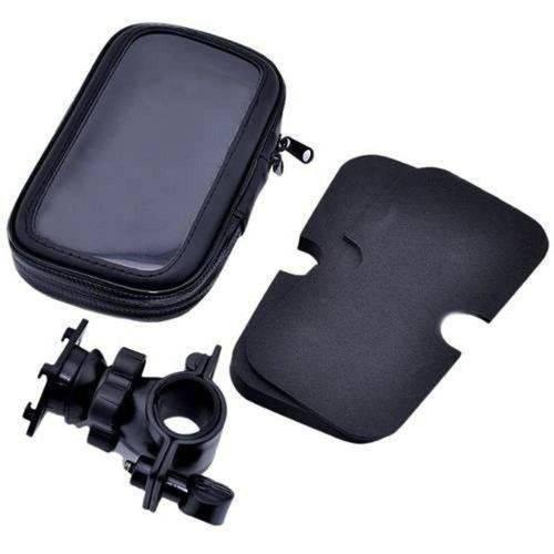 Suporte Para Celular Impermeável Para Moto/Bicicleta - Preto - B-Max - Bmg-09