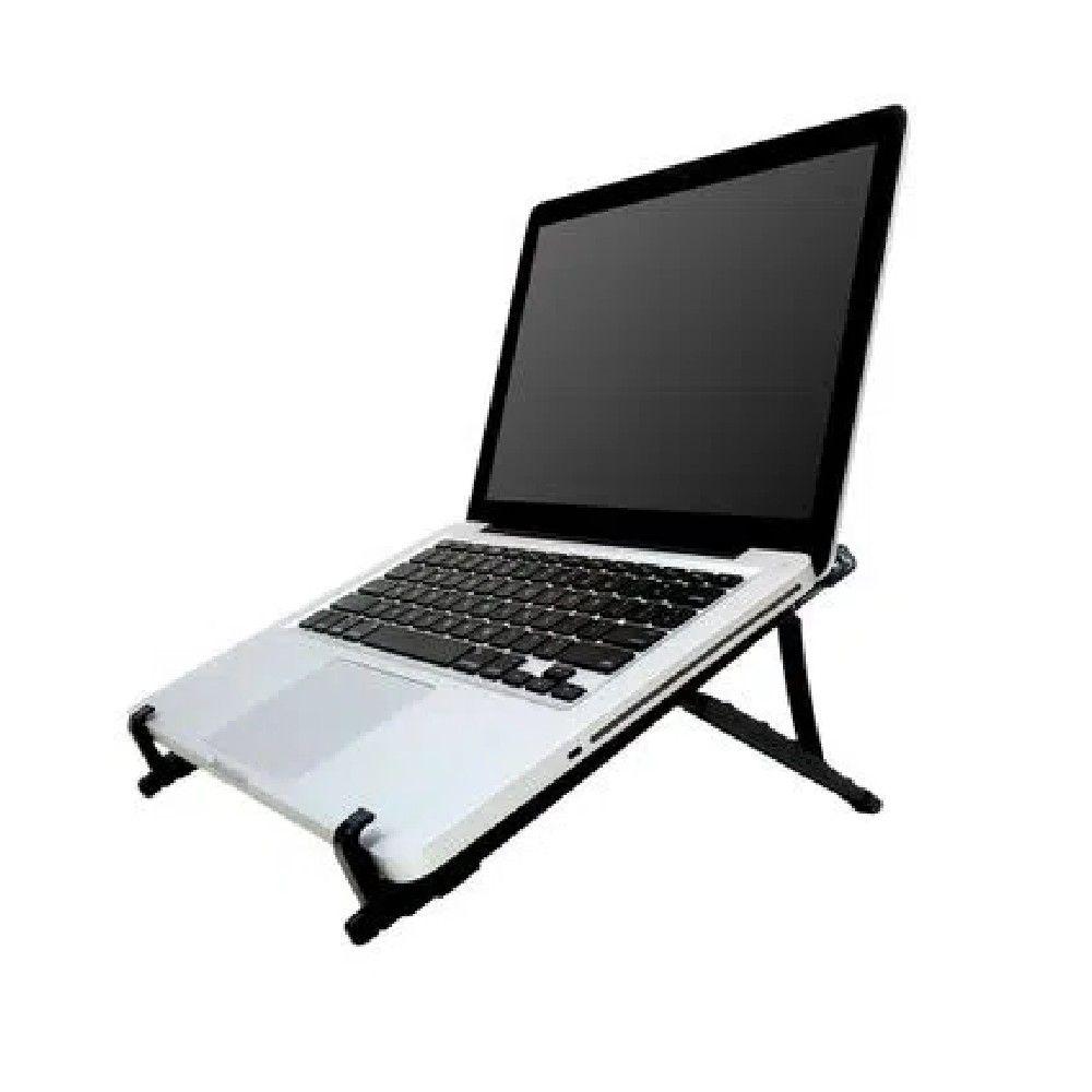 Suporte Regulável Multilaser para Notebook Preto - AC377