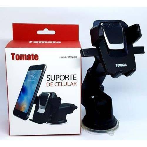 Suporte Veicular Para Celular Mtg-011-tomate