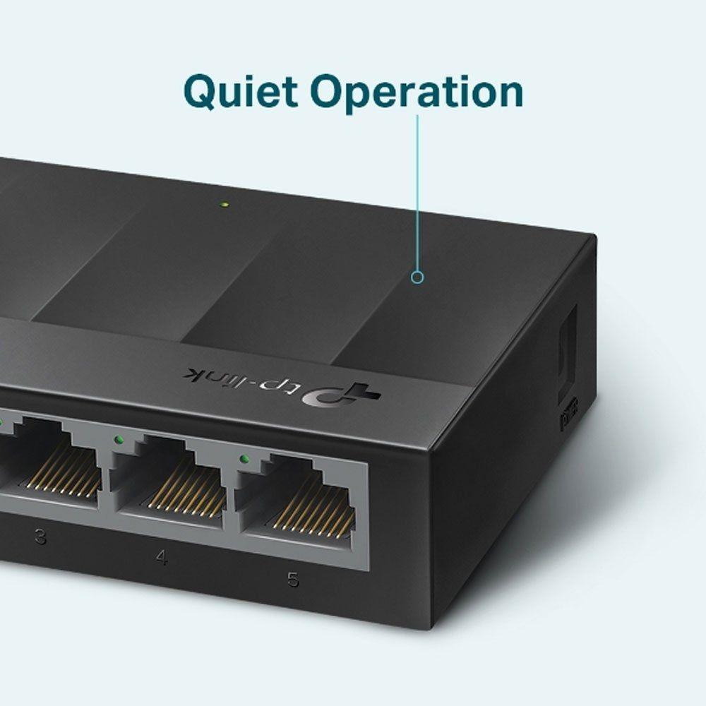 Switch Gigabit De Mesa Com 5 Portas 10/100/1000 Ls1005g Smb