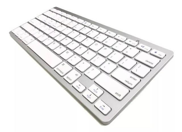 Teclado Bluetooth Para Notebook MacBook - Android iOs Windows