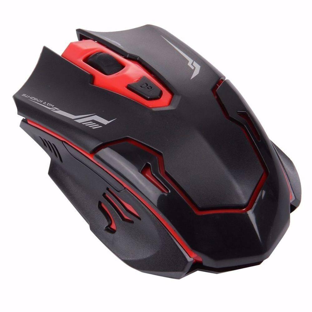 Teclado E Mouse Gamer keyboard Led Sem Fio jp-t1000