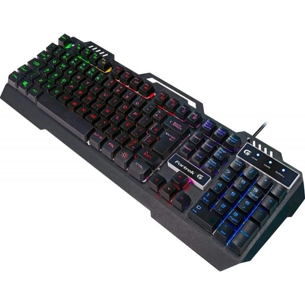 Teclado Gamer Crusader RGB 70528 - Fortrek