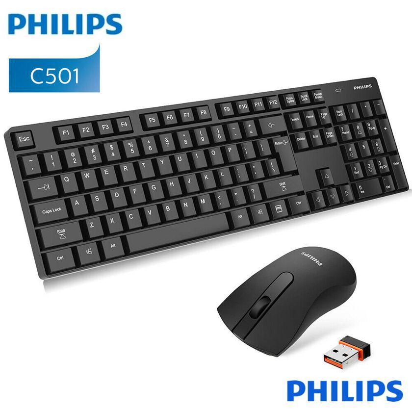 Teclado + Mouse Philips Wireless C501