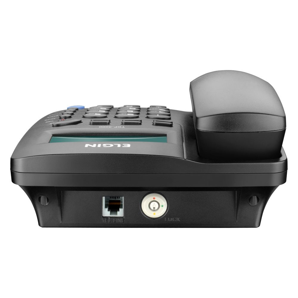 Telefone Bina com Fio - Id de Chamadas - TCF 3000 Elgin