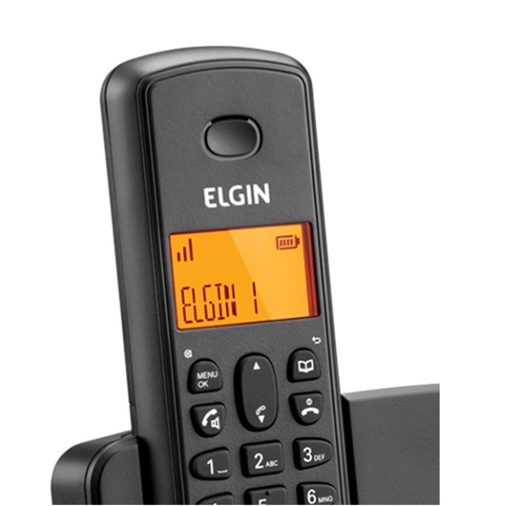 Telefone Sem Fio Secretária Eletrônica - Id Chamadas - Elgin