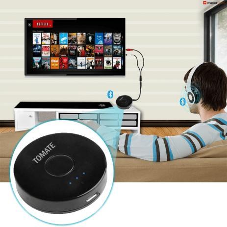 Transmissor Bluetooth V.4.0 P2 Tv Pc MP3 DVD - Tomate