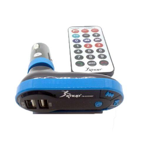 Transmissor FM Para Rádio Veicular - Bluetooth USB Cartão P2