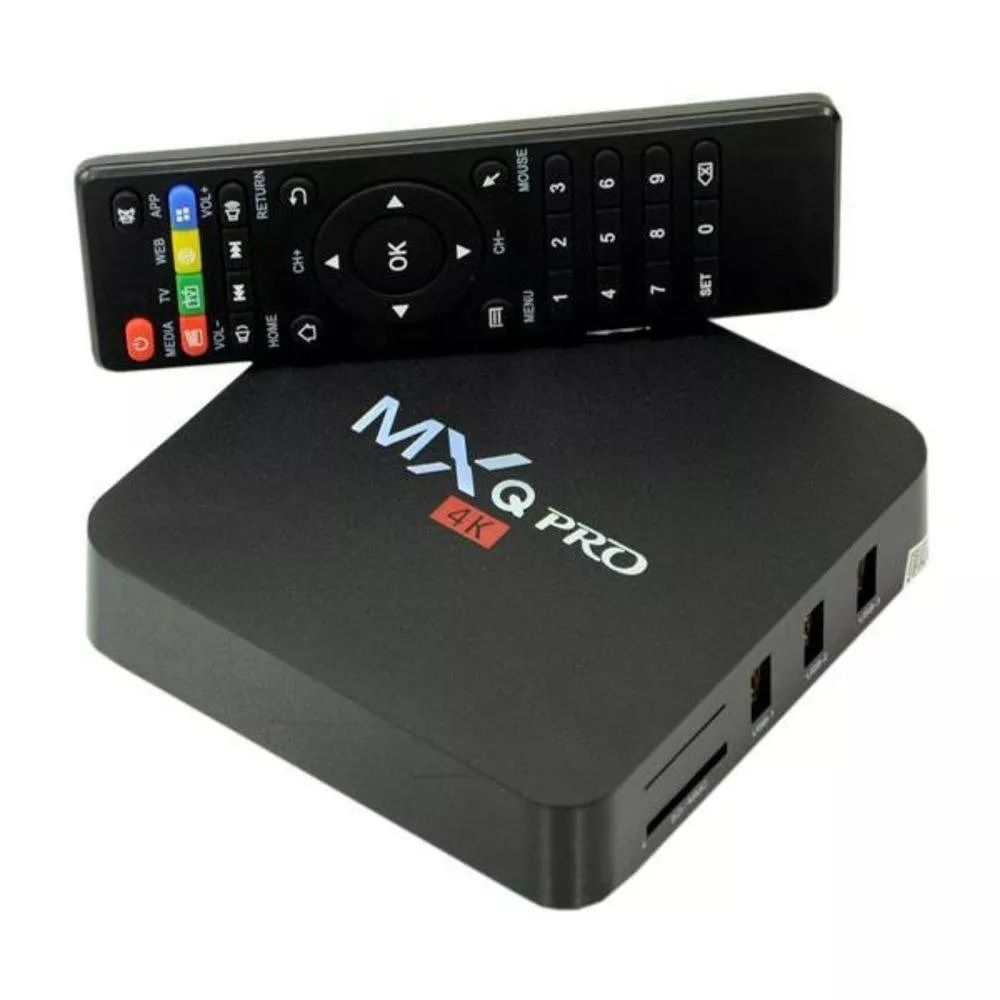Tv Box Mxq Pro 4k Android 16gb Interno - 2Gb Ram