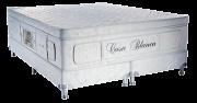 Exclusive CB 1.93 x 2.03 x 0.70 com Vibromassagem Super King com Base Box 02 travesseiros