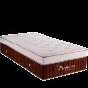 Colchão Teramag Elegance Padrão Solteiro 0,88 x 1,88 x 0,35 cm com Vibro massagem