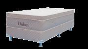 Colchão Dubai solteiro Molas Pocket  0,88 x 1,88 x 55 com Base Box