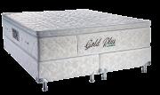 Gold plus Queen Casal Padrão 1.58 x 1.98 x 65 cm com vibro massagem e base Box