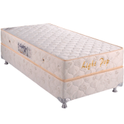 Light Pop 0.78 x 1.88 x 0.53 com Vibromassagem e Base Box
