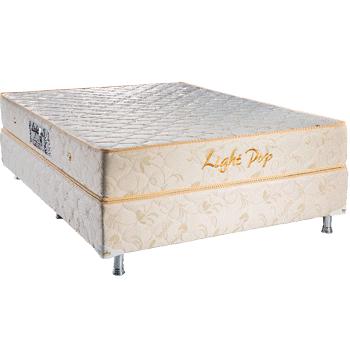 Colchão Teramag Light Pop King Size  1.93 x 2.03 x 0.53 com Massagem e Box