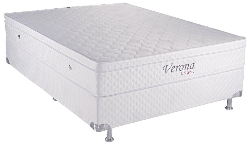 Colchão Teramag Verona King Size 1.93 x 2.03 x 0.53 com Vibro massagem e Box